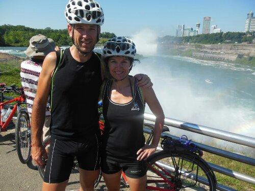 los itxaspe en las Cataratas del Niagara