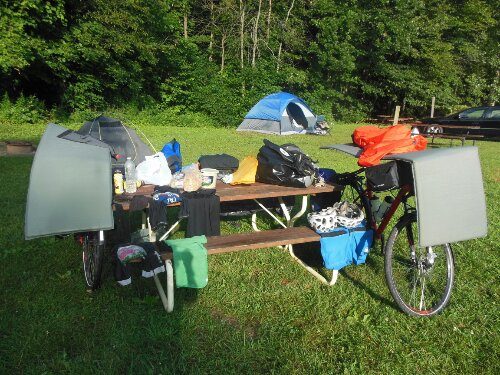Dia 16 – Ruby campground – Otter Lake – Michigan