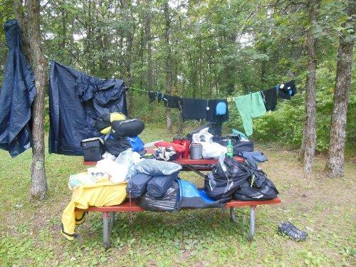 Dia 46-47-48- Grandsburg – St Croix Falls en canoa – Wisconsin