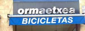 Ormaetxea Bicicletas, tienda de ciclismo en Amurrio, Araba