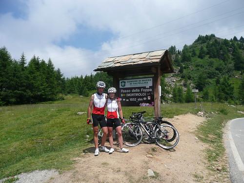 Dolomitas con bicicleta: La Maratona, Pordoi, Marmolada, Tres cimas de Lavaredo, Mortirolo, Gavia, Estelvio