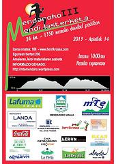 Mendaroko III Mendi Lasterketa: 14 Abril 2013