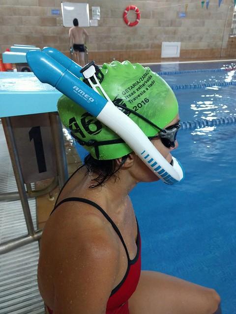 Ameo Powerbreather: tubo respiración para mejorar la técnica de natación y más
