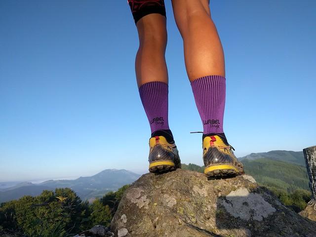 Calcetines deportivos Lurbel Premium Max: Gravity para trail running y Race