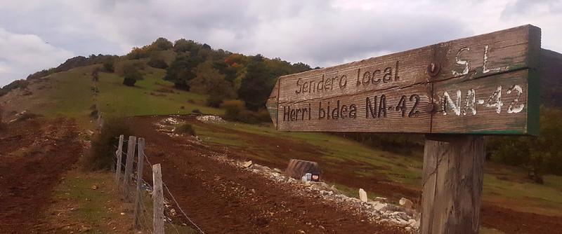 Ruta en el monte por Urtasun – Navarra