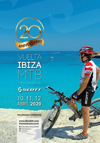 XX Vuelta a Ibiza en Mountain Bike Scott 2020. Inscripciones