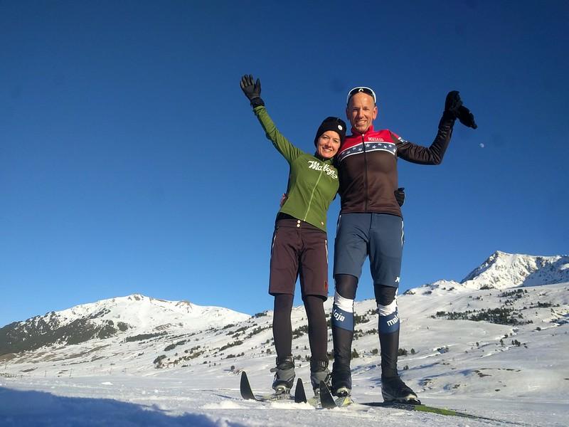 Ropa de esquí de fondo de Maloja