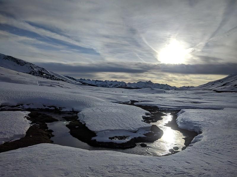 Esquí de fondo en Beret. Fin de año 2019