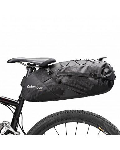 Mochila para sillín de bicicleta y manillar Columbus