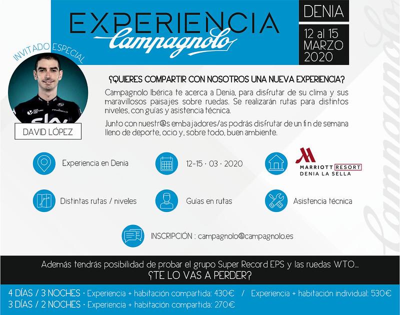 Campus ciclista Campagnolo Denia 2020