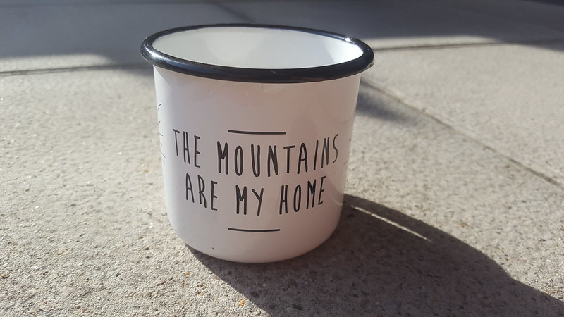 taza de the mountains are my home