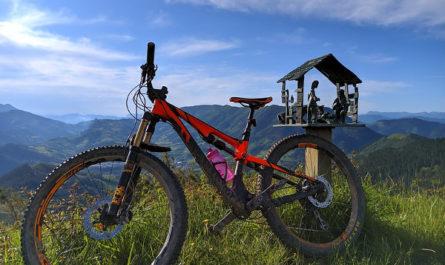 Bicicleta en Morkaiko