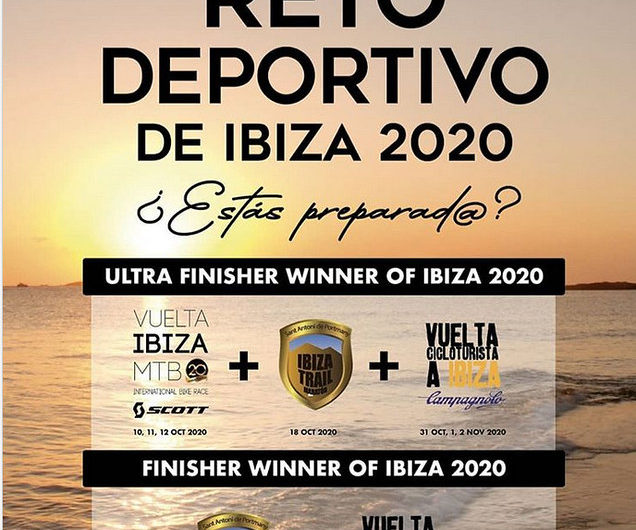 Ultra Finisher Winner of Ibiza 2020