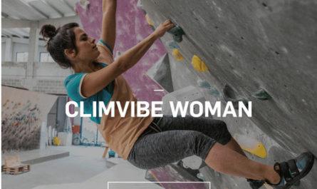 ropa de escalada sostenible de Ternua Climvibe