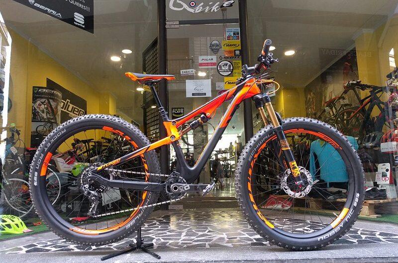 Bicicleta montaña segunda mano talla S :  Scott Genius 700 tuned Plus