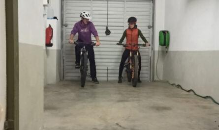 Tecnica mountain bike en casa