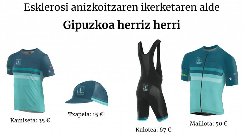 Gipuzkoa Herriz Herri – esclerosis múltiple y deporte