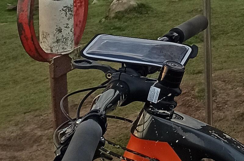 Soporte de móvil para bicicleta: Shapeheart
