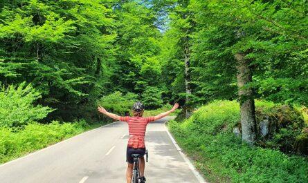 Urbasa en bicicleta de carretera