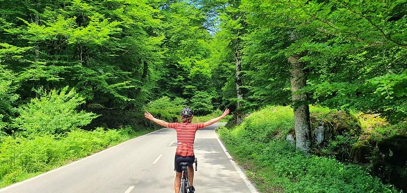 De Zegama a Urbasa en bicicleta de carretera